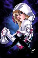 New Illustration of Spider Gwen by JonathanPiccini-JP