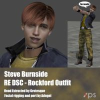 Steve Burnside Rockford Island Outfit by Adngel