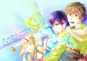 Free! Swim Club Fanbook Cover by ce540808