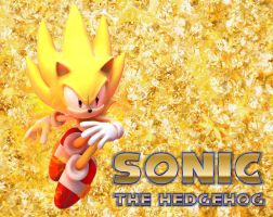 Super Sonic - Wallpaper by Knuxy7789