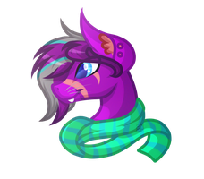 .:Commission:. Midnight Auralipse by Amazing-ArtSong