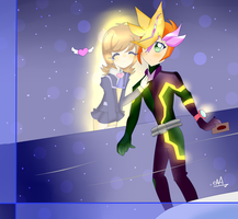 YGH vrains playmaker x aoi - Save me by chazzandalexis