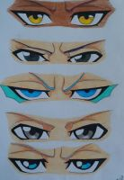 Eyes [Bleach] by Scarlet---Sky