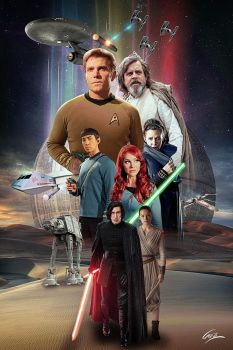 Star Trek Continues Meets Star Wars by PZNS
