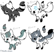 Special edition Kitties closed by Skullz-adopts