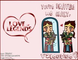 A Very Draven Valentine by CrAzYgOoDpOpTaRt