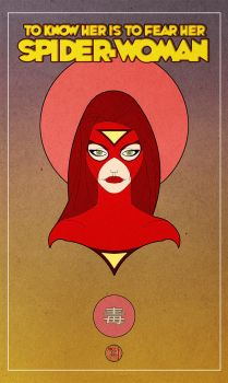spider-woman by francis001