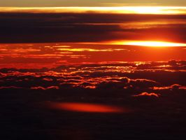 Sunset Above The Clouds -1- by IoannisCleary