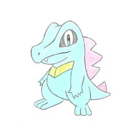 Totodile by Luke-113
