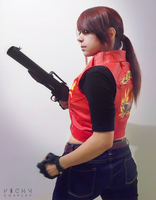 Claire Redfield cosplay - Let me Live by VickyxRedfield