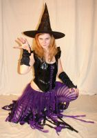 Jodi Purple Halloween Witch 17 by FantasyStock