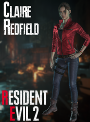 Claire Redfield - RE2:Remake - XPS by xZombieAlix
