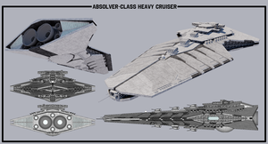 [StarWars] Absolver-class Heavy Cruiser by TheoComm