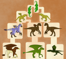 A Small Mistake - Dragon/Wyvern/Gryphon Evolution by horse14t