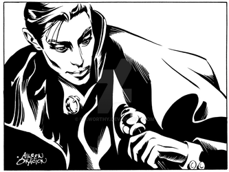 Count Dracula by InkWorthy