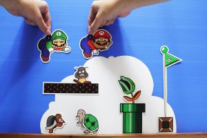 mario and luigi cheating..? by sfdesignproject