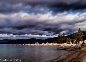 Dramatic light, Lake Tahoe by MartinGollery