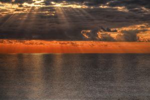 sunset-hdr by yoctox