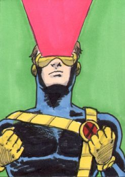 Cyclops Sketch Card - ECCC 2018 by pjperez