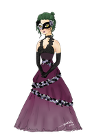 [S-D] meiko re fancy /masquerade event by naromaro