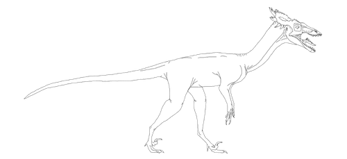 Werrysaurus Zachus (naked base) by Patchi1995