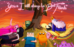 Adventure Time by Cetrece