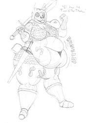 Dungeons and Donuts: Riley the Barbarian by PanzerschreckLeopard