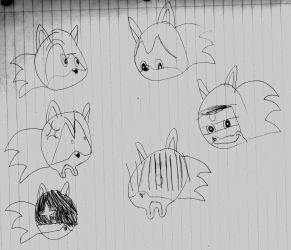 Sonic face experiment by BronyKAL9278REBOOT