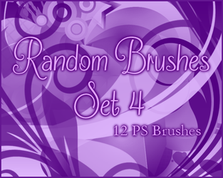 PS Random Brushes Set 4 by Illyera