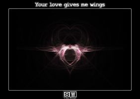 Your love gives me wings by iFeelNoSorrow