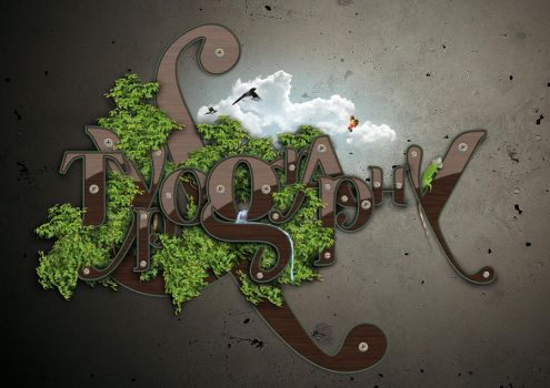 typography by soustudios