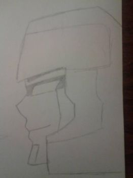 Unfinished Sketch of Megatron G1 by decepticonMega