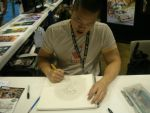 Mike Choi sketching for me! by ebonneau