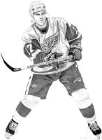Brett Hull - Detroit Red Wings - 2002 by MSCampbell