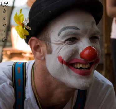 Portrait of a Clown by Shanyco2