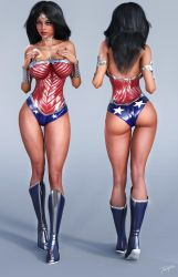 Character Reference Wonder Woman by tiangtam