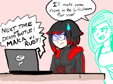 Good luck Ruby! (Shes going to die) by SuperMichael98