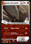 Justy's Excadrill (SP card) by DBurch01