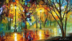 The Path To Joy by Leonid Afremov by Leonidafremov