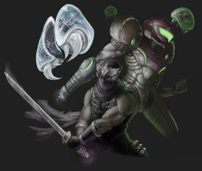 Fighting Souls by rustyyy