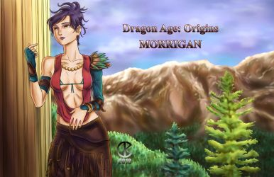 Morrigan - Epilogue by shrouded-artist