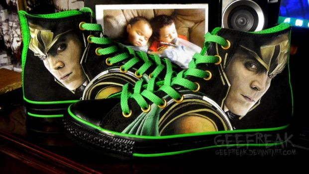 Loki: Converse by GeeFreak
