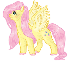 fluttershy by pizzur