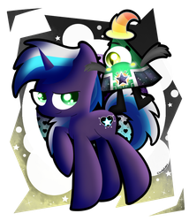 Seven Starheart and Skip by CloudyZu