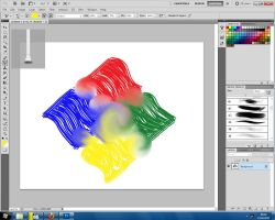 Playing with Photoshop CS5 by Misaki2009