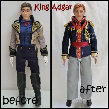 repainted ooak kind adgar / agnarr of arendelle. by verirrtesIrrlicht