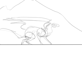 sketchy flight animation.2 by Remarin