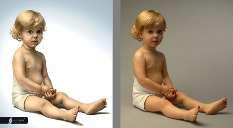 before and after baby by 27mad-gfx