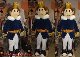Knight Toon Costume by AtalontheDeer