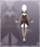 [Close] Adoptable Outfit Auction 123 by Kolmoys